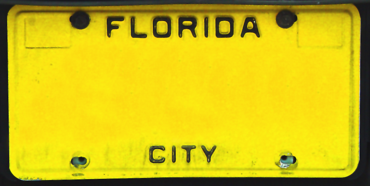 Florida Vanity License Plates - Some Made The Cut, Some Didn\'t ...