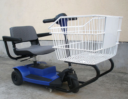 what could you possibly do with a motorized grocery cart