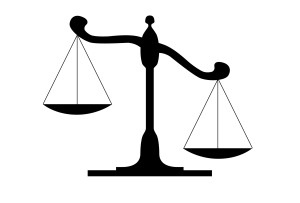 scales of justice out of balance