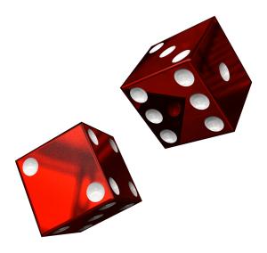 dice gambling rolling