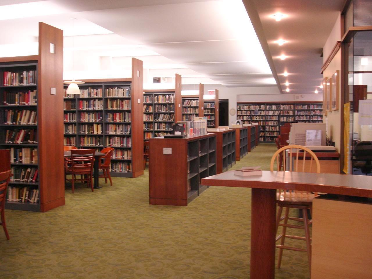The library as reported by the hunterdon county democrat via nj com