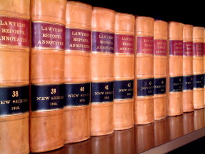 law books lawyer treatise legal research