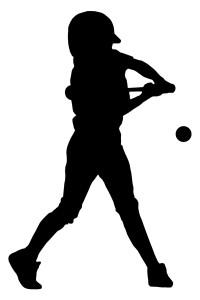 baseball batter player hitting ball hit