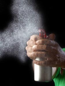 spray bottle liquid