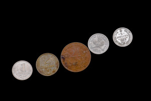 trail of coins