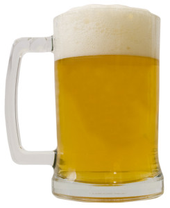beer glass mug draft tap