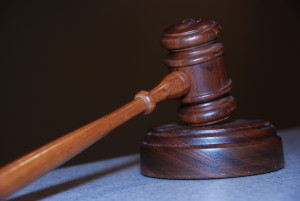 gavel judge court order in the