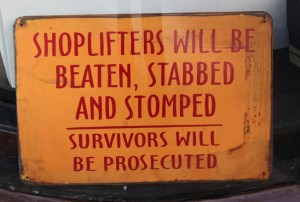 shoplifters shoplifting shoplift