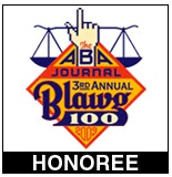ABA Journal 3rd Annual Blawg 100 Honoree